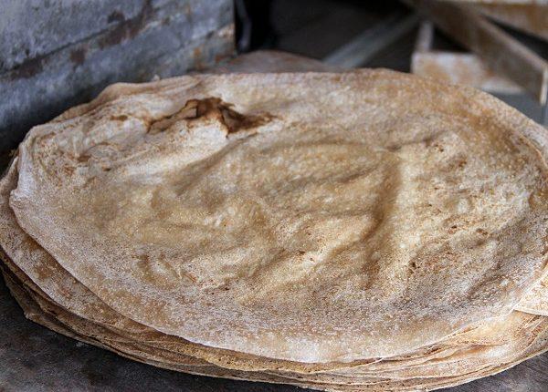 طريقة عمل خبز الصاج للشاورما