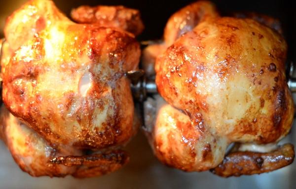الدجاج المحمر مثل المطاعم