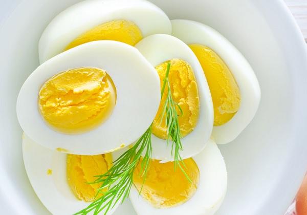 سلطة البيض المسلوق دايت