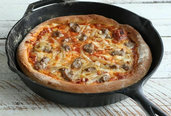البيتزا السائلة بدون بيض