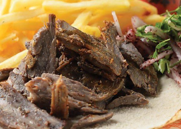 شاورما اللحم بالفرن