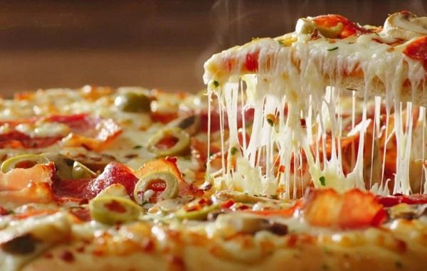 البيتزا بالخضار سهله