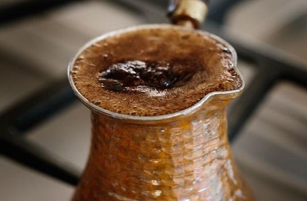 طريقة عمل القهوة التركية بوش طريقة