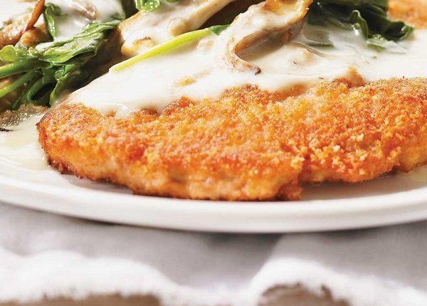 سكالوبيني دجاج