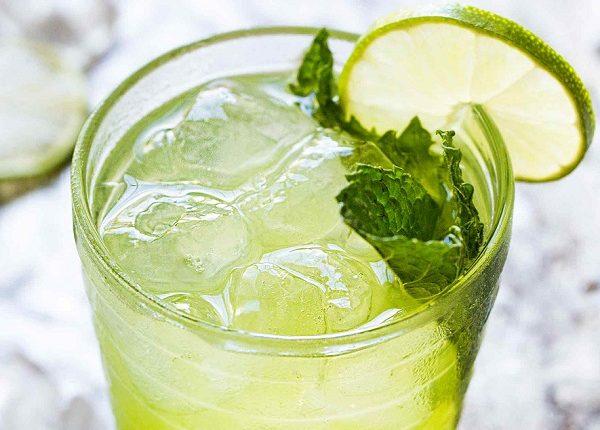 عصير الليمون بالنعناع مثل المطاعم