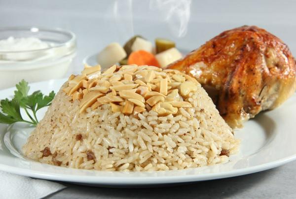الرز البرياني التركي