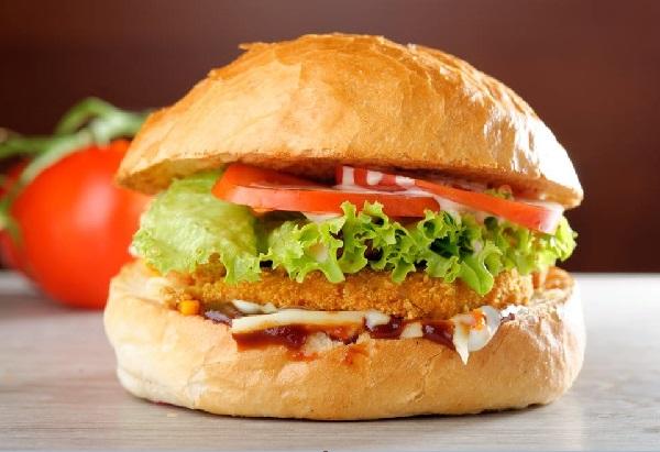 ساندوتش زنجر دجاج