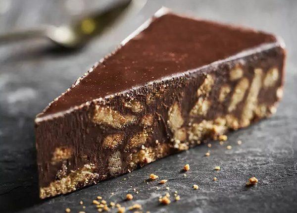 حلى شوكولاته بارد سهل حلي لذيذ سريع بدون فرن شوق وغزل