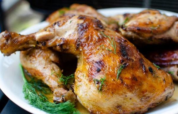 دجاج بالفرن بطريقة سهلة