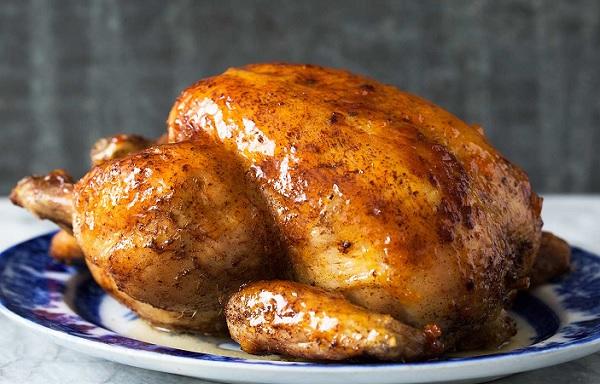 الدجاج المشوي بالكيس الحراري