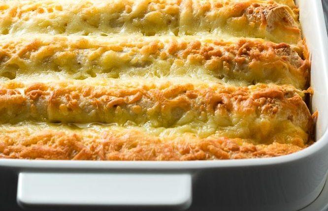 خبز التوست بالدجاج