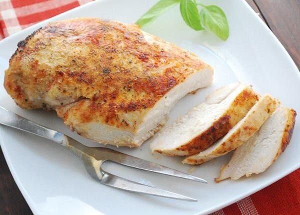 دجاج مقرمش للدايت