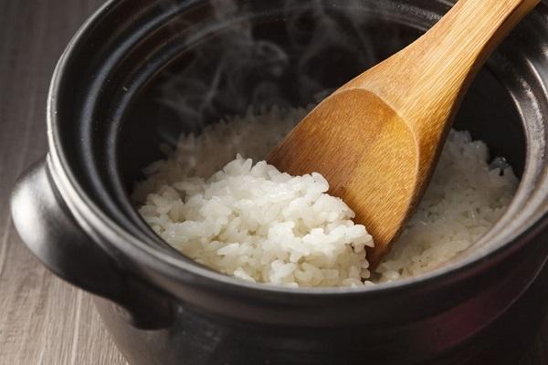 علاج الرز المحروق