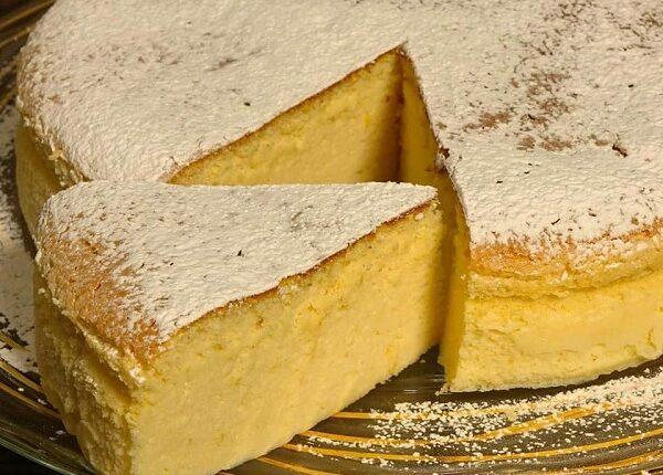 كيكة الجبن القطنية