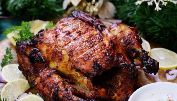 دجاج تندوري بدون فرن