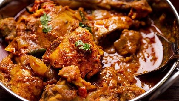 صالونة دجاج هندية